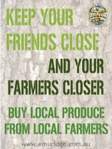 Keep Your Farmers Close. See our blog for correct labelling