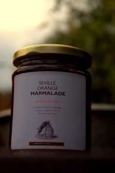 Marmalade looking proud after winning a commendation in the 2013 Dalemain Marmalade Awards.