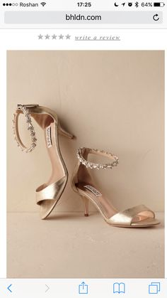 479b2f433a Rose Gold Sandals, Pretty Sandals, Lace Socks, Evening Shoes, Badgley  Mischka,