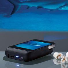 Un mini proyector para iPhone. Una idea muy útil.