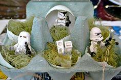 lego star wars stormtrooper egg box terrarium - easter party DSC_5965