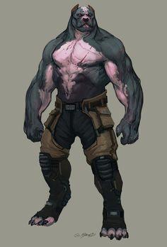 Concept Art Workshop: Creatures in Costume Class Demo, Jerad Marantz - New Ideas Fantasy Character Design, Character Concept, Character Inspiration, Character Art, Design Inspiration, Fantasy Races, Fantasy Warrior, Fantasy Art, Cyberpunk