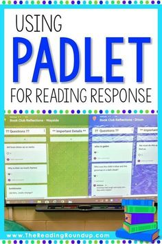 Are you looking to go paperless with your reading response notebooks? Padlet is … Are you looking to go paperless with your reading response notebooks? Padlet is an AMAZING digital tool that makes it engaging for readers to respond to… Continue Reading → 6th Grade Ela, 6th Grade Reading, Third Grade, Fourth Grade, Reading Response Notebook, Reading Notebooks, Web 2.0, Grades, Educational Technology