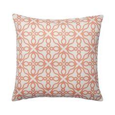 Printed Cushion - Vintage Corner Piece - Burnt Orange