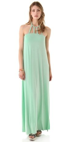 Rachel Pally Etty Dress .. kind of obsessed. amazing neckline and color