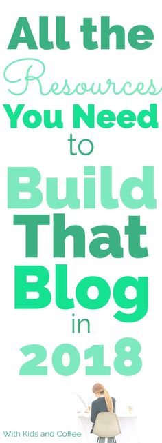 Blogging resources to help you start a blog and then build a blog from scratch. If you're a new blogger and aren't sure what to do for your first steps, these resources are a wonderful guide for beginners. With prices and services ranging from free or cheap to professional, there really is something to help every blogger feeling stuck to take their blog to the next level. #blogresources