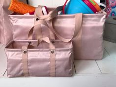 The tiny utility tote is here! We added this cutie to our lineup this spring! Thirty One Party, My Thirty One, Thirty One Bags, Thirty One Gifts, Large Utility Tote, 31 Bags, Travel Tote, Bag Organization, Toy Storage