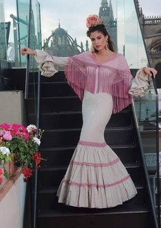 Costume de Flamenca. Begonia