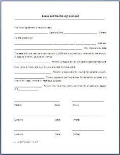 Rental Agreement Form Free Printab Property House Rental Agreement Fo  Welcome To Valliant House Lease Agreement Form Free