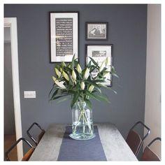 Farrow and ball lamp room grey paint tara living room - Avis farrow and ball ...
