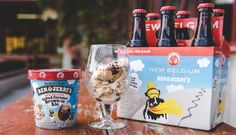 Ben & Jerry's is making craft beer ice cream!