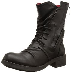 Rocket Dog Womens Tyree Spartan Pu Boot Black 6 M US * You can find out more details at the link of the image. (This is an affiliate link and I receive a commission for the sales) Discount Designer Shoes, Look Man, Mens Boots Fashion, Bike Style, Cool Boots, Mid Calf Boots, Ankle Booties, Black Boots, Combat Boots