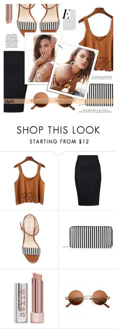 """""""The Fashion Life"""" by tasnime-ben ❤ liked on Polyvore featuring New Look, H&M, Ashley Graham, Stila and Sheinside"""