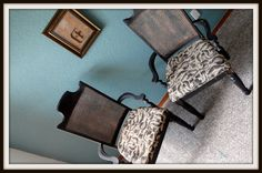 Vintage Chairs by JsFourLeaf on Etsy