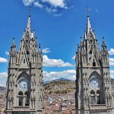 BASÍLICA DEL VOTO NACIONAL  #EcuadorPrimero #ViajaPrimeroEcuador #AllInOnePlace #AllYouNeedIsEcuador  By: @girora
