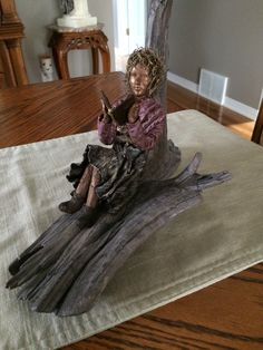 Fabric Art, Sculptures, Table, Furniture, Home Decor, Homemade Home Decor, Sculpting, Mesas, Home Furnishings
