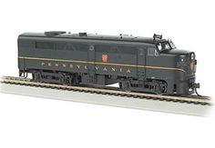 Bachmann HO Standard Line Alco FA2 Diesel Locomotive, with Sound, Pennsylvania