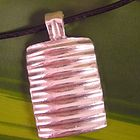 """cdsodesigns ridge pendant- This pendant is hand carved in wax and then cast in solid sterling silver.  The entire piece measures 1 1/2"""" inches in length and 3/4"""" inch ..."""