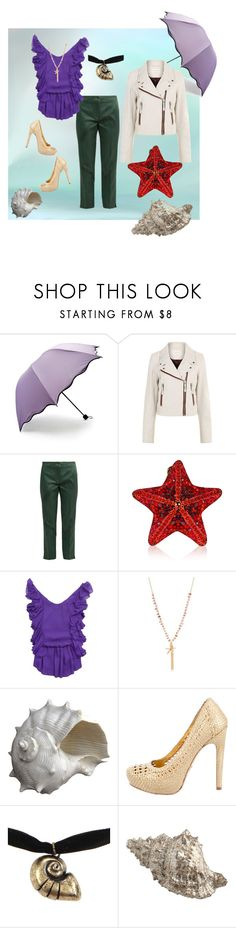 """""""under the sea"""" by tiff7700 ❤ liked on Polyvore featuring Forever 21, Étoile Isabel Marant, Etro, Judith Leiber, Alice + Olivia, Kim Rogers, Oly, Prada and Disney"""