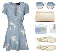 """""""BREEZY"""" by arditach ❤ liked on Polyvore featuring Luella, H&M, Garrett Leight, Butter London, Acne Studios and summerwedding"""