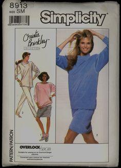 Uncut 1980s Size S M Bust 32 half 34 36 38 by VintagePatternsCo1