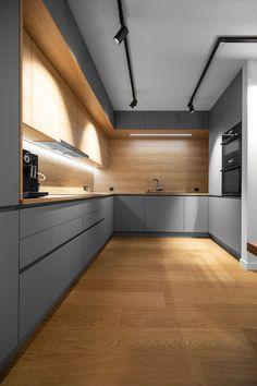 Kitchen Room Design, Luxury Kitchen Design, Contemporary Kitchen Design, Kitchen Cabinet Design, Luxury Kitchens, Kitchen Layout, Home Decor Kitchen, Interior Design Kitchen, Home Kitchens