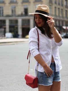Le chapeau de paille en ville par @modasic