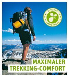 Den Trekkingrucksack richtig einstellen - wir sagen Dir wie's geht. www.naturzeit.com