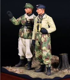 Winter Panzer Crew by Donghyun Jung (Alpine Miniatures 1/35)