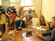 Cauquenesnet.com #DiaNoticias: Senador Larraín en reunión con Ministra Rincón le ...
