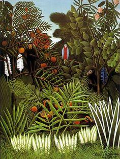 Henri Rousseau, Exotic Landscape, 1908