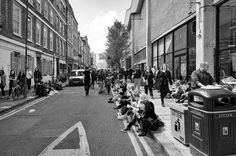 Photo by Nicu Gherasim on EyeEm Brick Lane, Royalty Free Pictures, Nicu, London City, City Life, Street View, Explore, Black And White, Photography