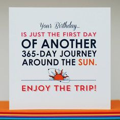 'around the sun' birthday card by come for a dream   notonthehighstreet.com