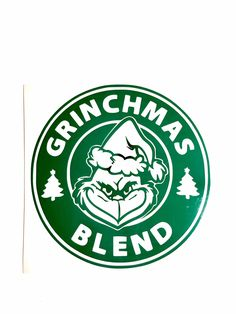 How The Grinch Stole Christmas Starbucks Logo Grinchmas Blend Cut SVG File Set Christmas Vinyl, Grinch Stole Christmas, Christmas Shirts, Xmas, Starbucks Christmas Cups, The Grinch, Christmas Decor, Christmas Ideas, Grinch Cricut