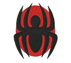 Spider embroidery design. Animals embroidery