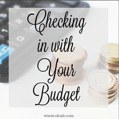 You've created your budget, but the real magic to making it work is to check in with your budget. Here's how you stay on top of your money. Life On A Budget, Make It Work, Our Life, Create Yourself, Budgeting, Place Card Holders, Money, Cards, Map