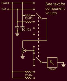 Build your own SWR meter.