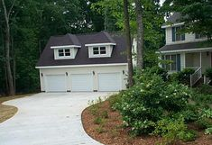 Custom Garage Building Construction Example | Detached Garage | Triple Garage | Carolina Garage Builders