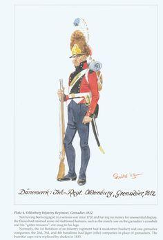 Denmark Infantry Regiment Oldenburg, Grenadier 1812