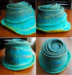 cashmere recycled hats. I'll have to give this some thought about how to do it.