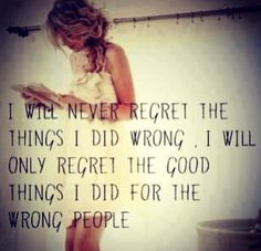time wasted on the wrong people