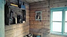 1910's sauna interior