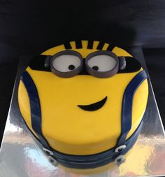 Despicable me movies. Minion movies. Birthday cake.