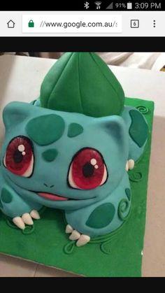 Bulbasaur Cake