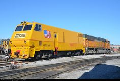 RailPictures.Net Photo: HZGX 181 Herzog Railway Services MOW Equipment at Alorton, Illinois by Craig Walker