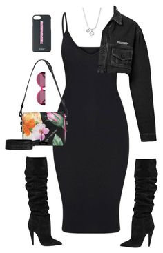 """Untitled #645"" by stephstyles508 on Polyvore featuring Yves Saint Laurent, Off-White and Gucci"