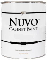 Nuvo Titanium White Quart - Recommended. One coat.