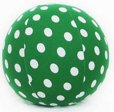 Finlee and Me - Green and White Polka Dot Balloon Ball available now to buy in Brisbane, Queensland, Australia