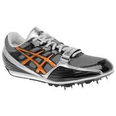 Mens Asics Turbo jump Athletic Cleats Black - ONLY $74.99