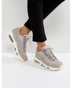 Nike Air Max 95 Premium Light Grey Trainers